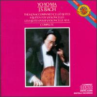 J. S. Bach: The 6 Unaccompanied Cello Suites Complete - Yo-Yo Ma (cello)