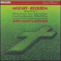 Mozart: Requiem; Kyrie - Anne Sofie von Otter (contralto); Barbara Bonney (soprano); Hans Peter Blochwitz (tenor); Susan Addison (trombone);...