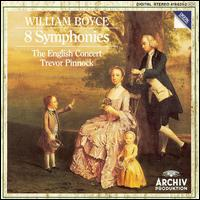 William Boyce: 8 Symphonies - Alastair Mitchell (bassoon); Amanda MacNamara (double bass); David Reichenberg (oboe); Francis Turner (violin);...