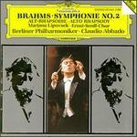 Brahms: Symphonie No. 2; Alt-Rhapsodie