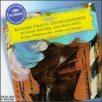 Strauss: Ein Heldenleben; Wagner: Siegfried-Idyll - Michel Schwalb� (violin); Berlin Philharmonic Orchestra; Herbert von Karajan (conductor)