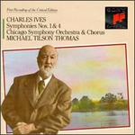 Ives: Symphonies Nos. 1 & 4; Hymns