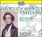 Felix Mendelssohn-Bartholdy: Symphonies Nos. 1-5