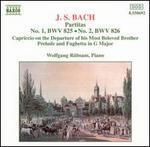 J.S. Bach: Partitas Nos. 1 and 2