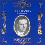 Sings Schubert Lieder