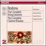 Brahms: Complete String Quartets; Clarinet Sonatas
