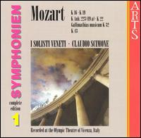 Mozart: Symphonien, Vol. 1 - I Solisti Veneti; Claudio Scimone (conductor)