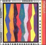 Music by Sciarrino, Bussotti, Berio and Xenakis - Contempoensemble; Mauro Ceccanti (conductor)