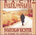 Bach: Suite Inglesi n. 1 (BWV 806) & n. 3 (BWV 808)