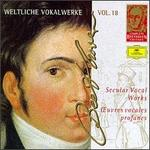 Complete Beethoven Edition, Vol. 18: Secular Vocal Works