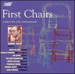First Chairs: Cantos for Solo Instruments by Samuel Adler