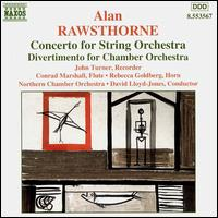 Rawsthorne: Orchestral Works - John Turner (recorder); Northern Chamber Orchestra (chamber ensemble); Rebecca Goldberg (horn); David Lloyd-Jones (conductor)