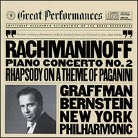 Rachmaninov: Piano Concerto No. 2; Rhapsody on a Theme of Paganini - Gary Graffman (piano); New York Philharmonic; Leonard Bernstein (conductor)