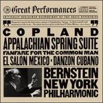 Copland: Appalachian Spring; Fanfare for the Common Man; El Sal=n MTxico; Danz=n Cubano