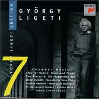 Ligeti: Chamber Music - Gareth Hulse (oboe); Marie-Luise Neunecker (horn); Michael Collins (clarinet); Philippa Davies (flute);...