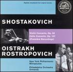 Dmitri Shostakovich: Violin Concerto, Op. 99; Cello Concerto, Op. 107