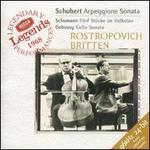 Schubert: Arpeggione Sonata; Schumann: Fnnf Stncke im Volkston; Debussy: Cello Sonata