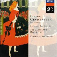 Prokofiev: Cinderella, Op. 87; Glazunov: Seasons Op67 - Vladimir Ashkenazy (violin)