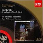 Schubert: Symphonies Nos. 3, 5, & 6 (Great Recordings of the Century)