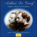 Arthur De Greef: Grieg Piano Concerto