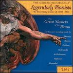 The Genesis Recordings of Legendary Pianists, Vol. 1