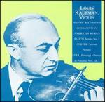 Historic Recordings of 20th Century American Works