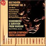 """Beethoven: Symphony No. 9 """"Choral""""; Schoenberg: Survivor from Warsaw"""