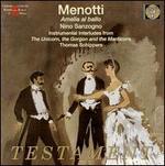 Menotti: Amelia Al Ballo [Amelia Goes to the Ball--Orig 1954 Prod]