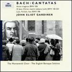 Bach: Cantatas BWV 106, 118/231, 198