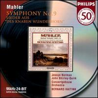 Mahler: Symphony No. 9/ Wunderhorn-Lieder - Jessye Norman (soprano); John Shirley-Quirk (bass); Royal Concertgebouw Orchestra; Bernard Haitink (conductor)