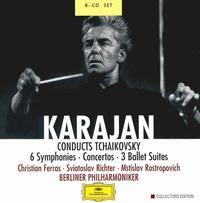 Karajan Conducts Tchaikovsky - Christian Ferras (violin); Michel Schwalb� (violin); Mstislav Rostropovich (cello); Sviatoslav Richter (piano);...