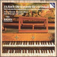 Bach: Die Konzerte f�r 2 Cembali - English Consort; Kenneth Gilbert (cembalo); Trevor Pinnock (cembalo)