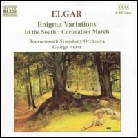 Elgar: Enigma Variations; In the South; Coronation March - Bournemouth Symphony Orchestra; George Hurst (conductor)
