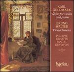 Walter: Violin Sonata; Goldmark: Suite No. 1 for Violin & Piano, Op. 11