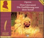 Mozart: Don Giovanni; Die Entführung aus dem Serail