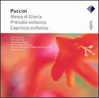 Puccini: Messa di Gloria: Preludio sinfonico; Capriccio sinfonico - Hermann Prey (baritone); Jos� Carreras (tenor); Ambrosian Singers (choir, chorus); Claudio Scimone (conductor)