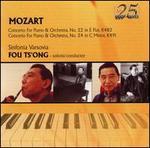 Mozart: Concertos for Piano & Orchestra Nos. 22 & 24