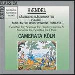 H�ndel: Sonatas for Wood-Wind Instruments, Vol. 1