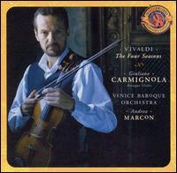 Vivaldi: The Four Seasons; Three Violin Concertos - Andrea Marcon (harpsichord); Giuliano Carmignola (baroque violin); Venice Baroque Orchestra; Andrea Marcon (conductor)