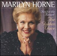 Just for the Record: The Golden Voice - Joan Sutherland (soprano); Luciano Pavarotti (tenor); Marilyn Horne (mezzo-soprano); Martin Katz (piano); Osian Ellis (harp);...