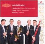 Hindemith: Kleine Kammermusik; Ligeti: Sechs Bagatellen; Nielsen: Quintett