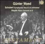 """Schubert: Symphonies Nos. 6 & 8 (""""Unfinished""""); Haydn: Piano Concerto in D"""