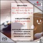 Brahms: Violin Sonata No. 1, Op. 78; Horn Trio, Op. 40; Vieuxtemps: Ballade Et Polonaise, Op. 38 [Hybrid Sacd]