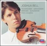 Tchaikovsky, Wienawski, Brahms, Schumann: Violin Concertos - Joshua Bell (violin); Cleveland Orchestra; Vladimir Ashkenazy (conductor)