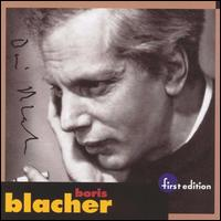 Boris Blacher - Louisville Orchestra
