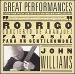 Rodrigo: Concierto De Aranjuez & Fantasía Para Un Gentilhombre-Albéniz: Works Arranged for Guitar