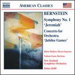 Bernstein-Symphony No 1; Concerto for Orchestra, 'Jubilee Games'