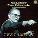 Otto Klemperer, Wiener Philharmoniker: Live Broadcast Performances [Box Set]
