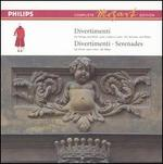 Mozart: Divertimenti for Strings and Winds; Divertimenti & Serenades for Winds [Box Set]