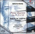 Brahms: Piano Quartets, Opp. 25, 26, 60 [Hybrid Sacd]